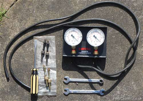 Carb Balancing with Vacuum Gauges