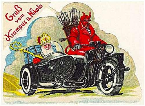 Happy Krampus und Nikolo Christmas...
