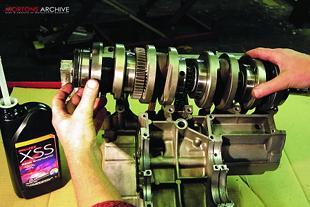 Suzuki GS750 engine rebuild