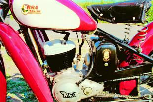 BSA D1 Bantam engine