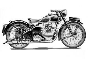 1949 Ariel KG De-luxe