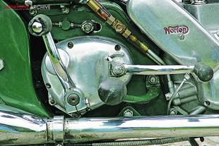 1959 Norton Model 50 gearbox