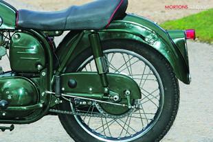 1959 Norton Model 50 motorcycle