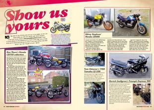 Readers' motorcycles