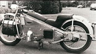 Mercury classic British motorcycle