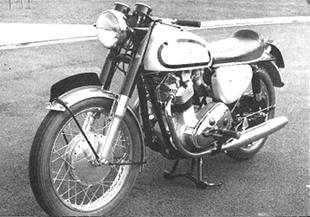 Norton ohc 800cc prototype motorcycle