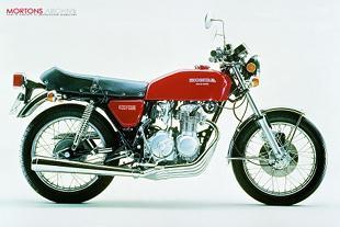 Honda CB400/4 classic Japanese motorcycle