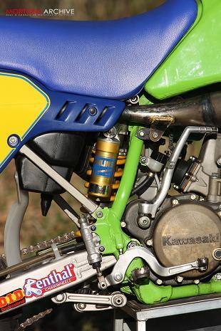 Kawasaki KX500 motorcycle review
