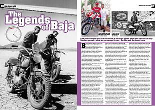 Baja racers