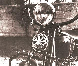Indian Four classic American motorcycle