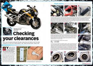 Honda Fireblade valve clearances