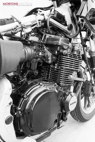 Suzuki GSX550 engine