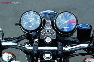 Honda CB750 classic Japanese motorcycle
