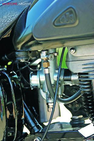 AjS Model 18S carburettor