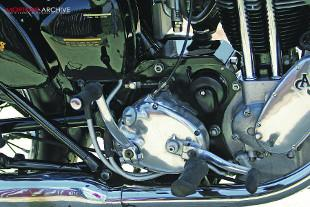 AJS Model 18S gearbox