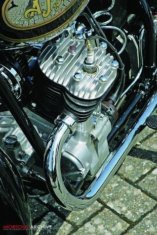 AJS S3 classic motorcycle restoration