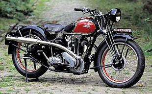 1934 Ariel Red Hunter classic British motorcycle