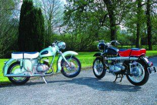 Adler MB250S classic motorcycle