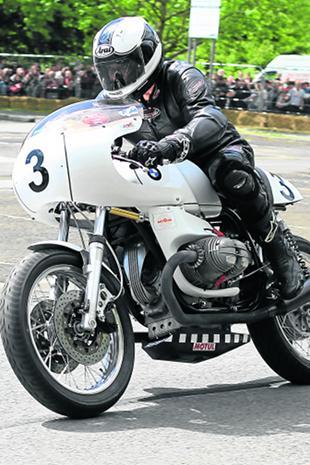 Alain Marie's 750cc BMW