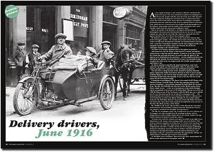 Delivery driver, June 1916