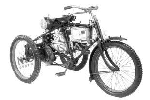 Ariel built trycles before starting motorcycle production