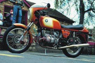 BMW R90S boxer twin classic motorcycle