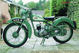 1951 BSA D1 125cc Bantam