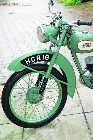 1951 BSA D1 Bantam 125cc