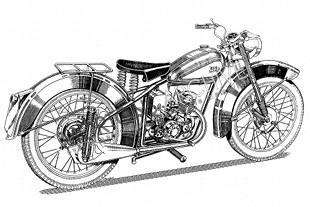 BSA Bantam D1 125cc