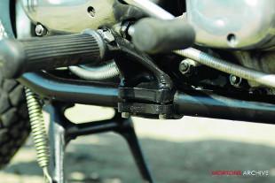 BSA Spitfire scrambler frame