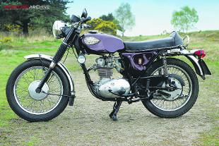 BSA Starfire B25S 250cc single cylinder