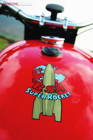 BSA Super Rocket classic motorcycle restoration