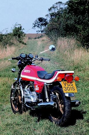 Ducati classic Italian performance motorcycle