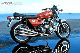 Benelli six cylinder motorcycle
