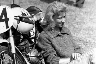 Bery Swain, motorcycle racer