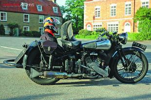 Brough Superior 11.50 combination