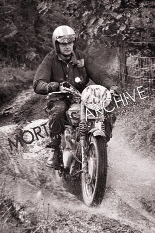 Bud Ekins, stunt rider, desert racer and dealer. The Geat Escape stunt rider