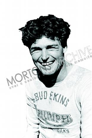 Bud Ekins, desert racer, scrambler, long distance trials rider, dealer and stunt rider