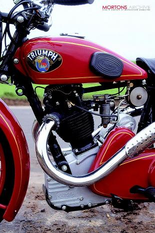 Triumph 500 CD classic motorcycle road test