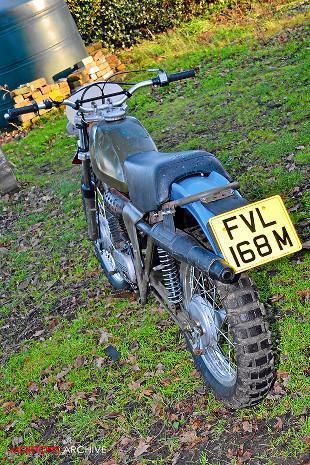 CanAm 250cc Bombardier motorcycle rebuild