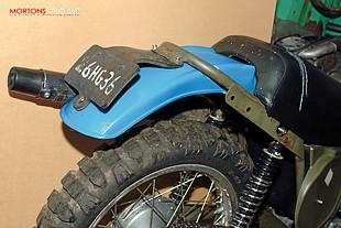 CamAm 250cc Bombardier motorcycle rebuild