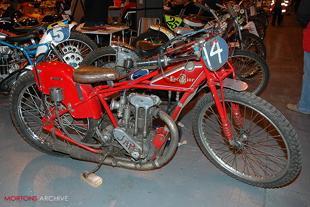 Speedway JAP engine