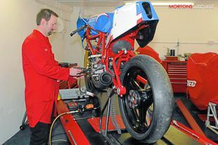 GTEC workshop with Ducati TT2