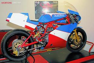 Ducati TT2 in GTEC workshop