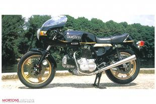 Ducati classic Italian motorcycle