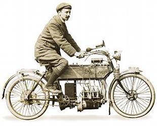 Durkopp in-line 4 classic German motorcycle