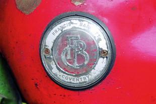 Francis-Barnett tank logo