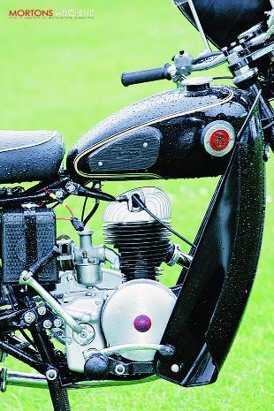 Villiers-engined 1954 Francis-Barnett Falcon