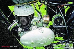 1954 Villers-engined Francis-Barnett Falcon
