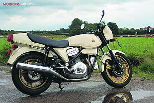Hesketh V1000 classic V-twin motorcycle
